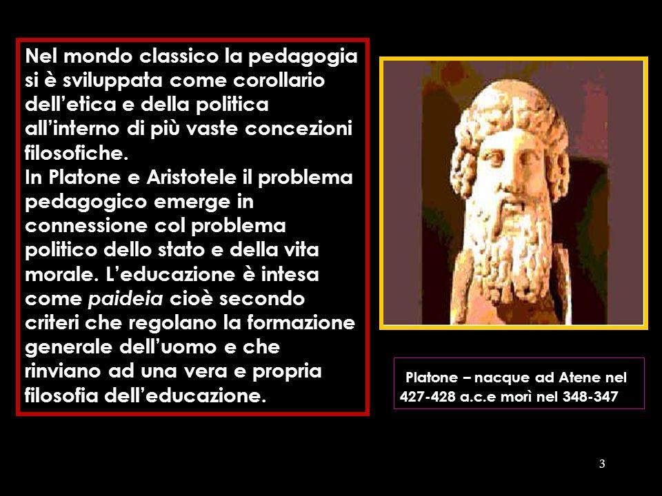 Platone – nacque ad Atene nel 427-428 a.c.e morì nel 348-347