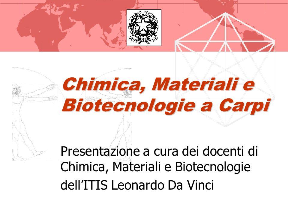 Chimica, Materiali e Biotecnologie a Carpi