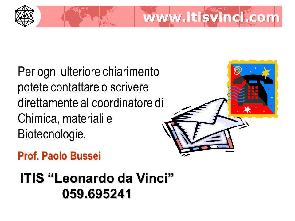 ITIS Leonardo da Vinci 059.695241