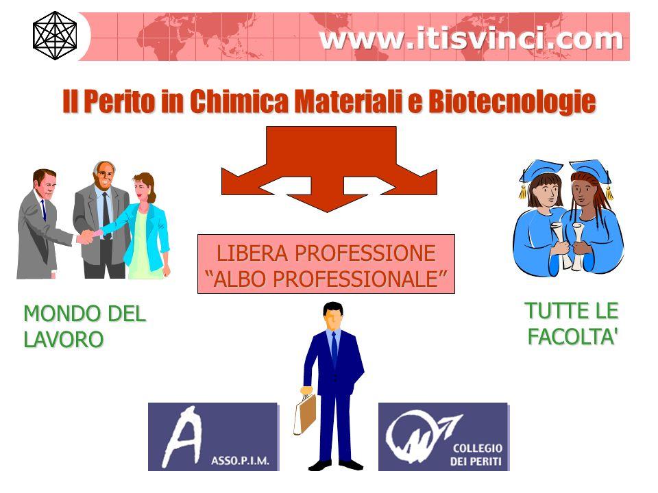 Il Perito in Chimica Materiali e Biotecnologie