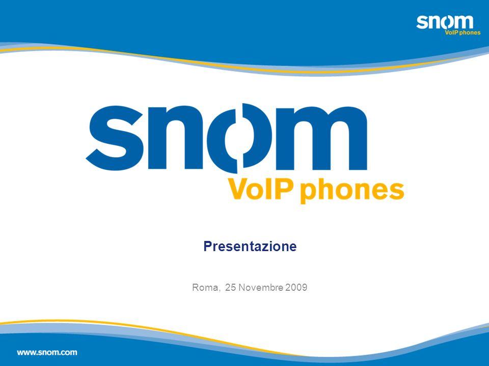 Presentazione Roma, 25 Novembre 2009