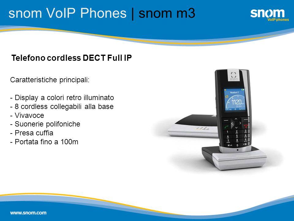 snom VoIP Phones | snom m3