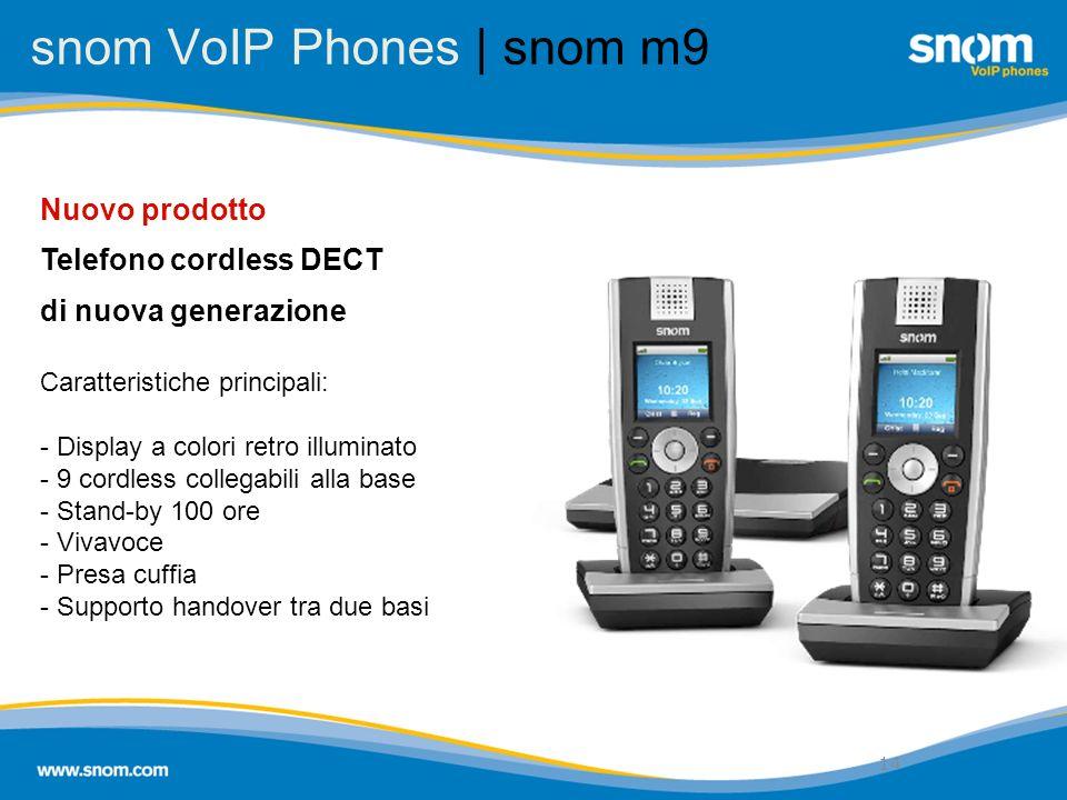 snom VoIP Phones | snom m9