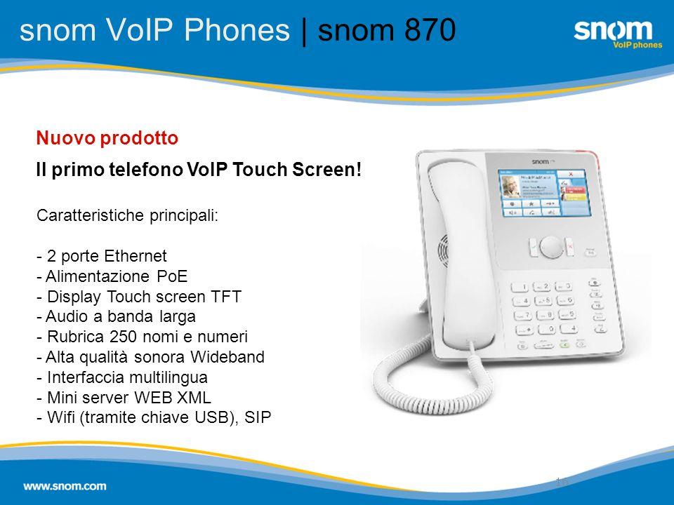 snom VoIP Phones | snom 870 Nuovo prodotto