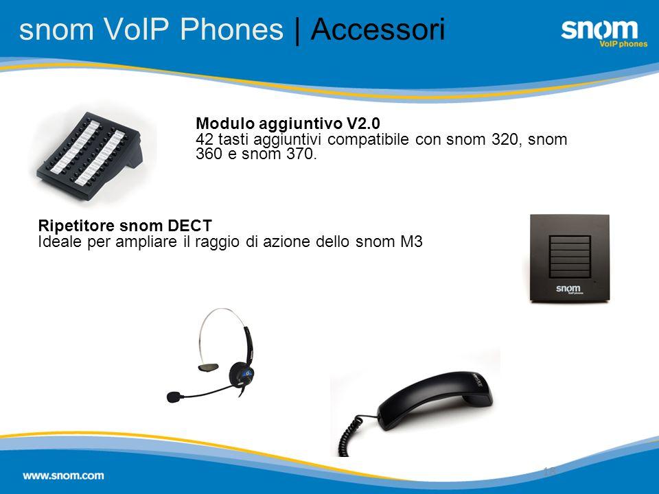 snom VoIP Phones | Accessori