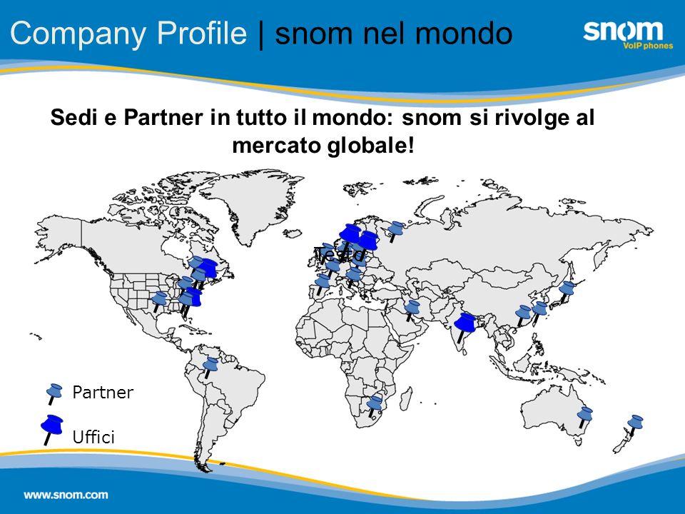 Company Profile | snom nel mondo