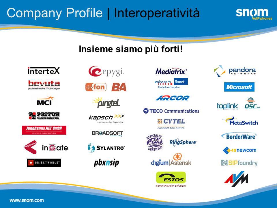 Company Profile | Interoperatività