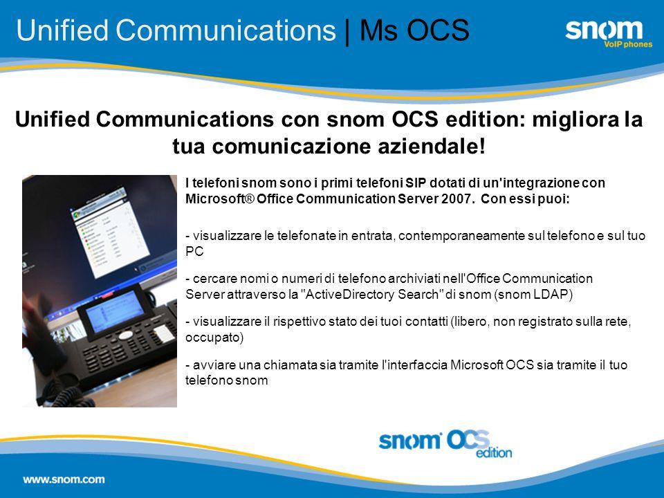 Unified Communications | Ms OCS