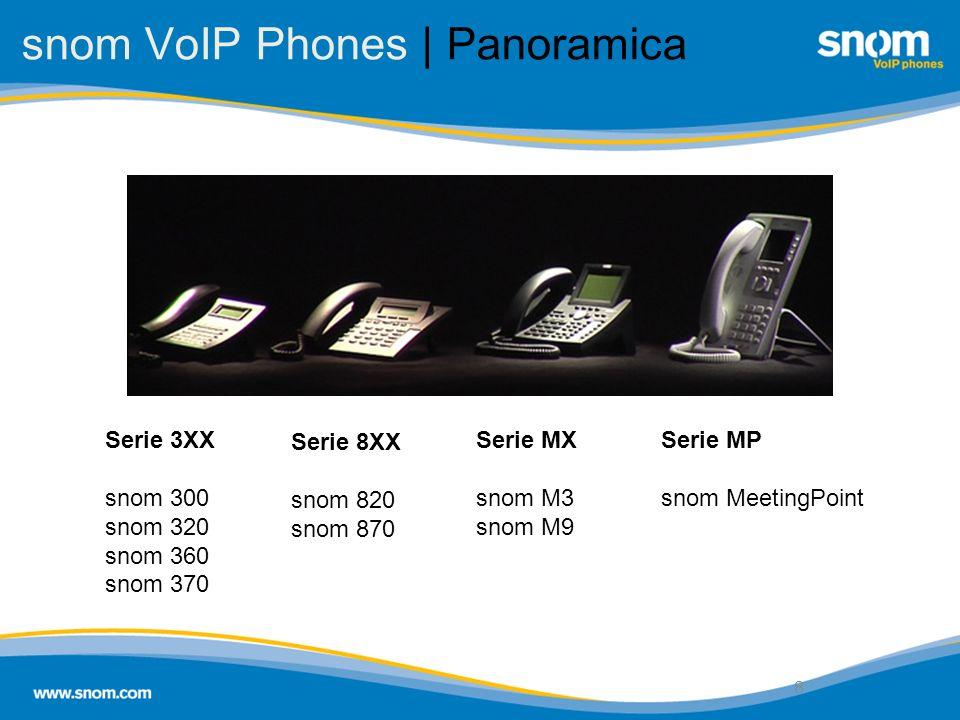 snom VoIP Phones | Panoramica
