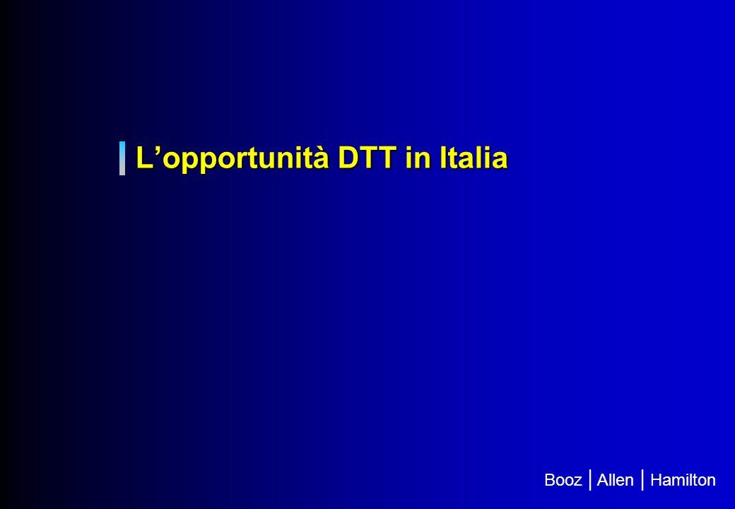 L'opportunità DTT in Italia