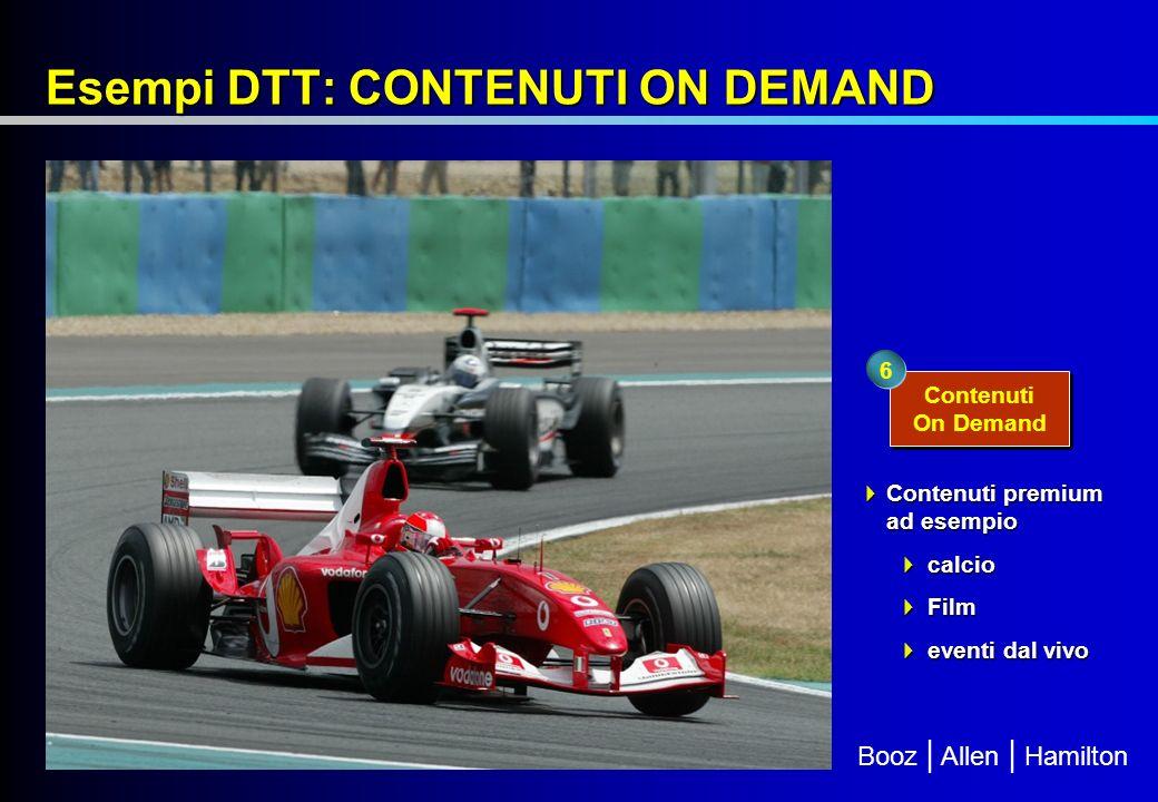 Esempi DTT: CONTENUTI ON DEMAND