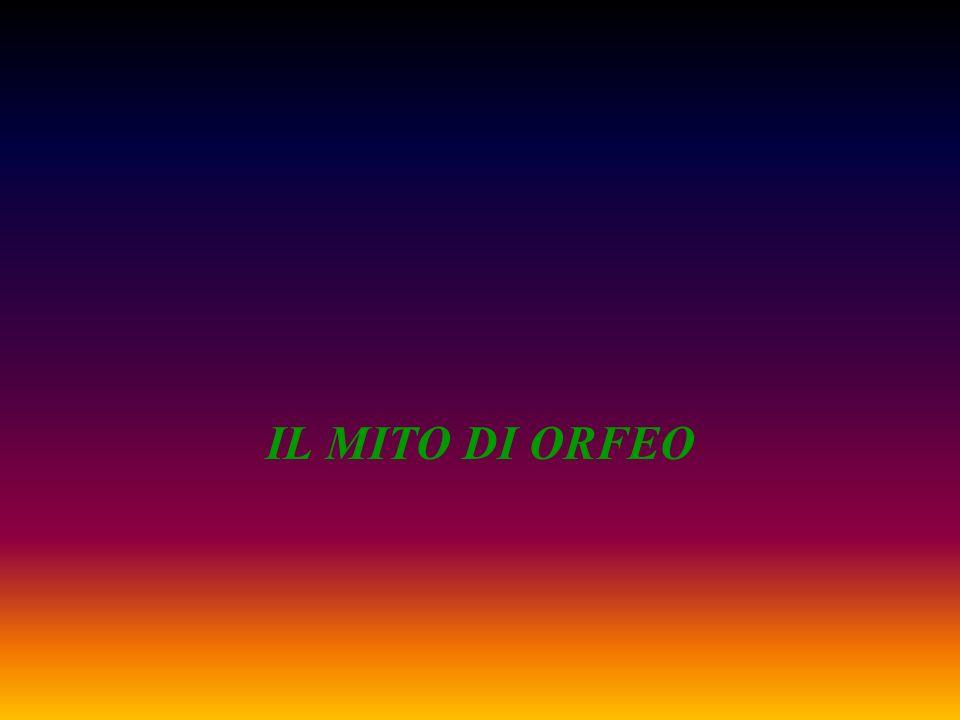 IL MITO DI ORFEO