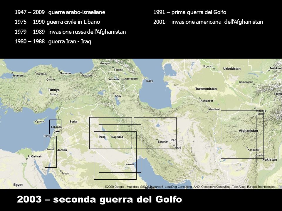 2003 – seconda guerra del Golfo