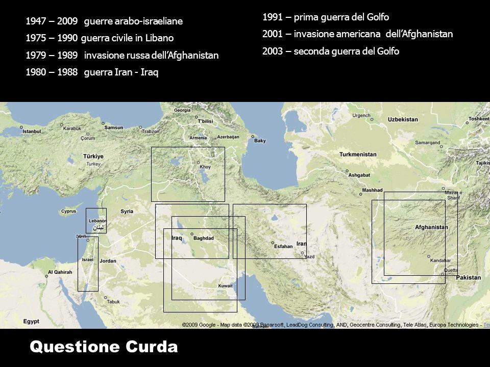 Questione Curda 1991 – prima guerra del Golfo