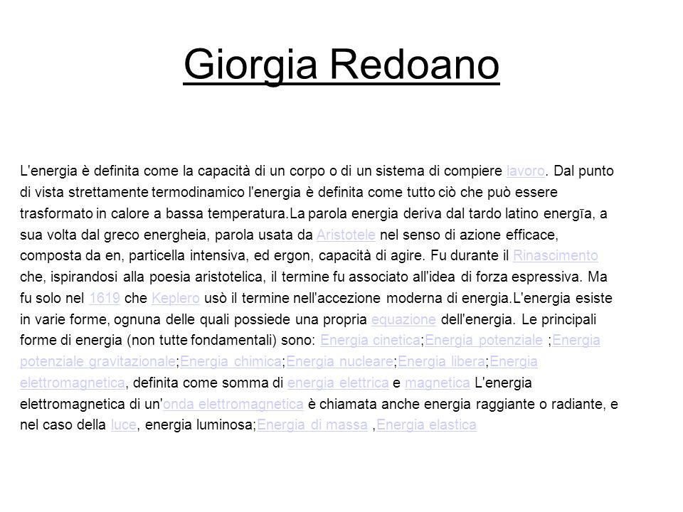 Giorgia Redoano
