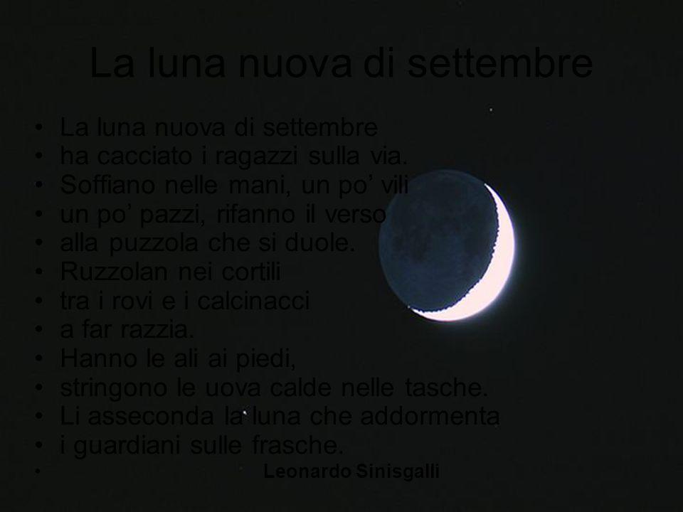 La luna nuova di settembre