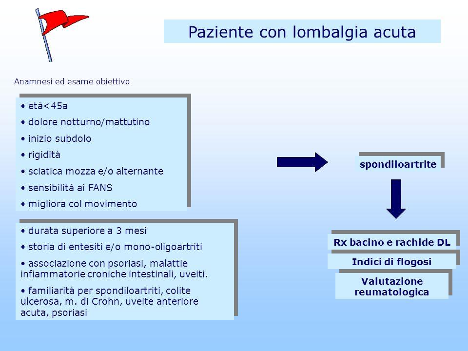 Valutazione reumatologica