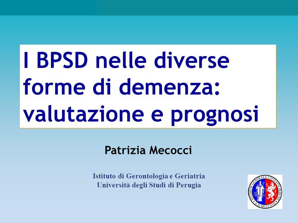 Istituto di Gerontologia e Geriatria Università degli Studi di Perugia