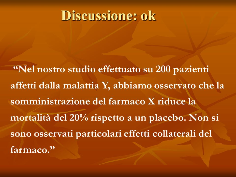 Discussione: ok