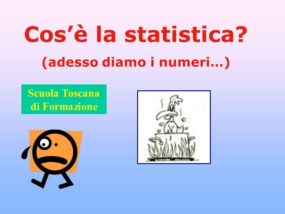 (adesso diamo i numeri…) Scuola Toscana di Formazione