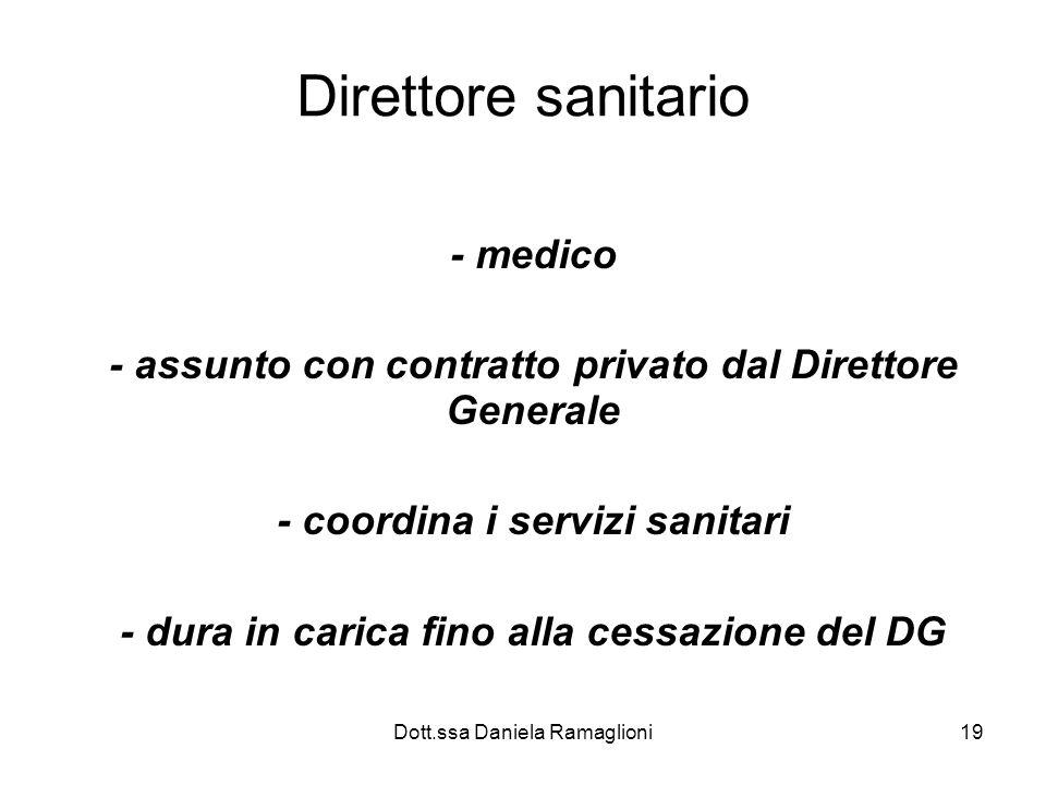 Direttore sanitario - medico