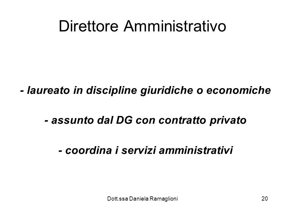 Direttore Amministrativo