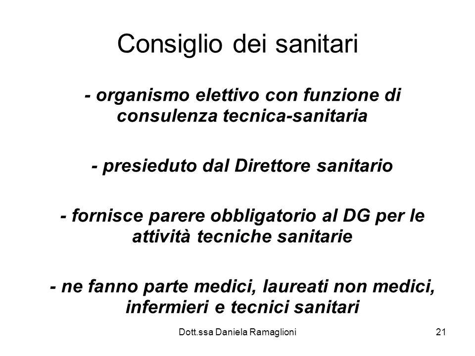 Consiglio dei sanitari