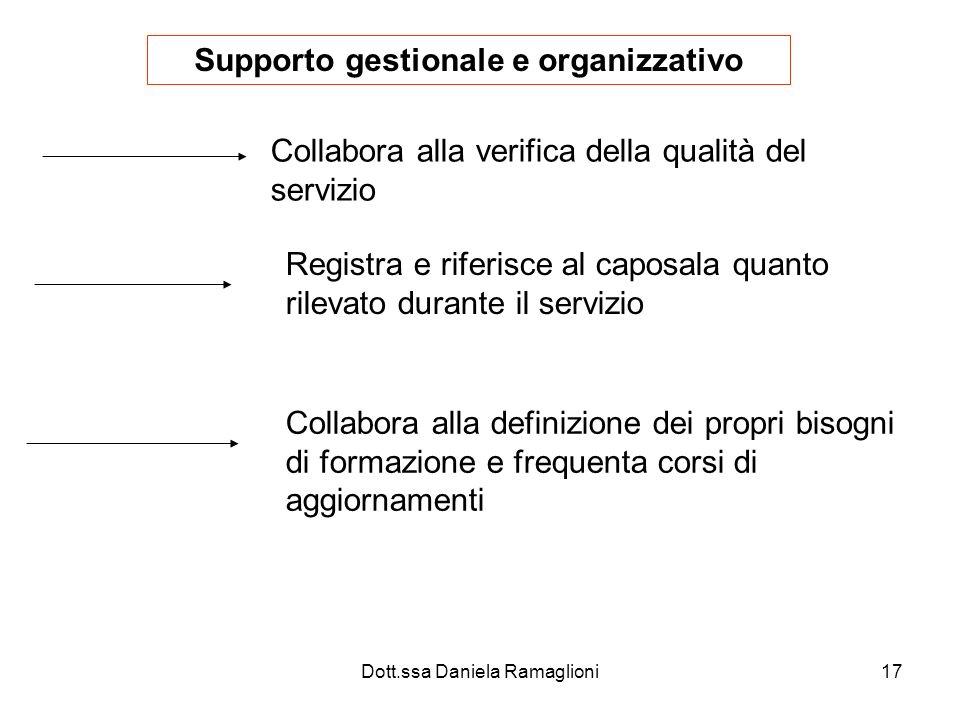 Supporto gestionale e organizzativo