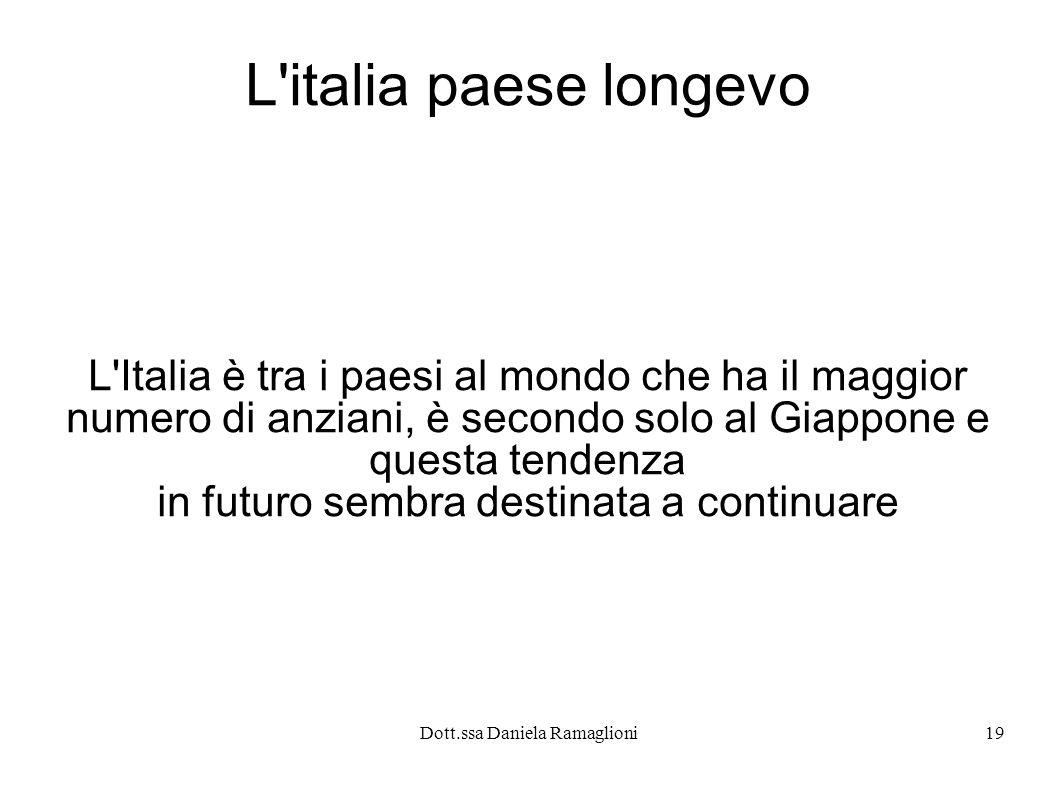 L italia paese longevo L Italia è tra i paesi al mondo che ha il maggior. numero di anziani, è secondo solo al Giappone e.