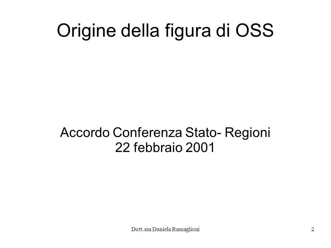 Origine della figura di OSS
