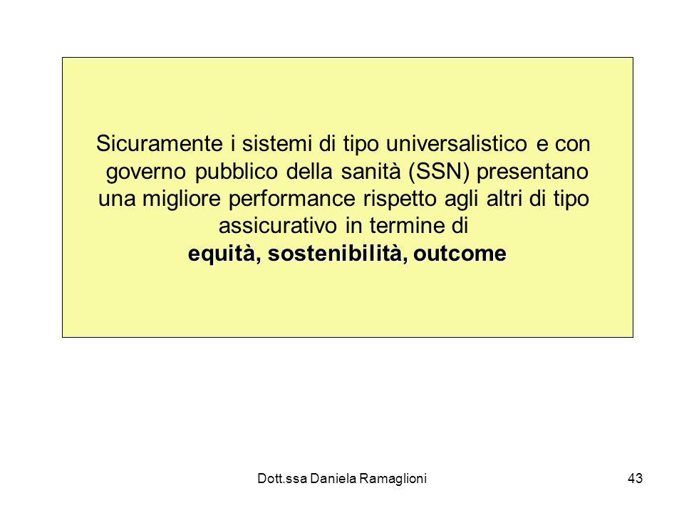 equità, sostenibilità, outcome