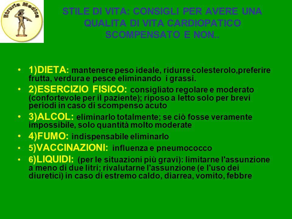 4)FUMO: indispensabile eliminarlo