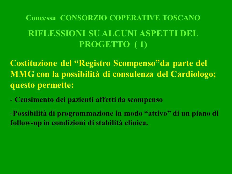 RIFLESSIONI SU ALCUNI ASPETTI DEL PROGETTO ( 1)