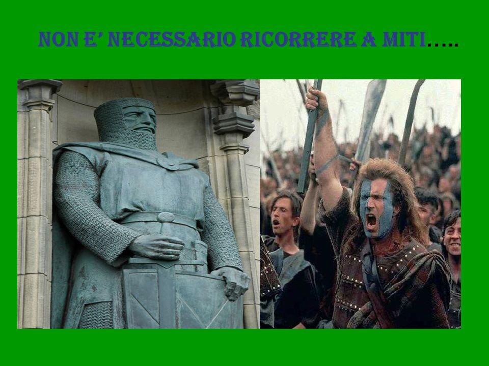 NON E' NECESSARIO RICORRERE A MITI…..