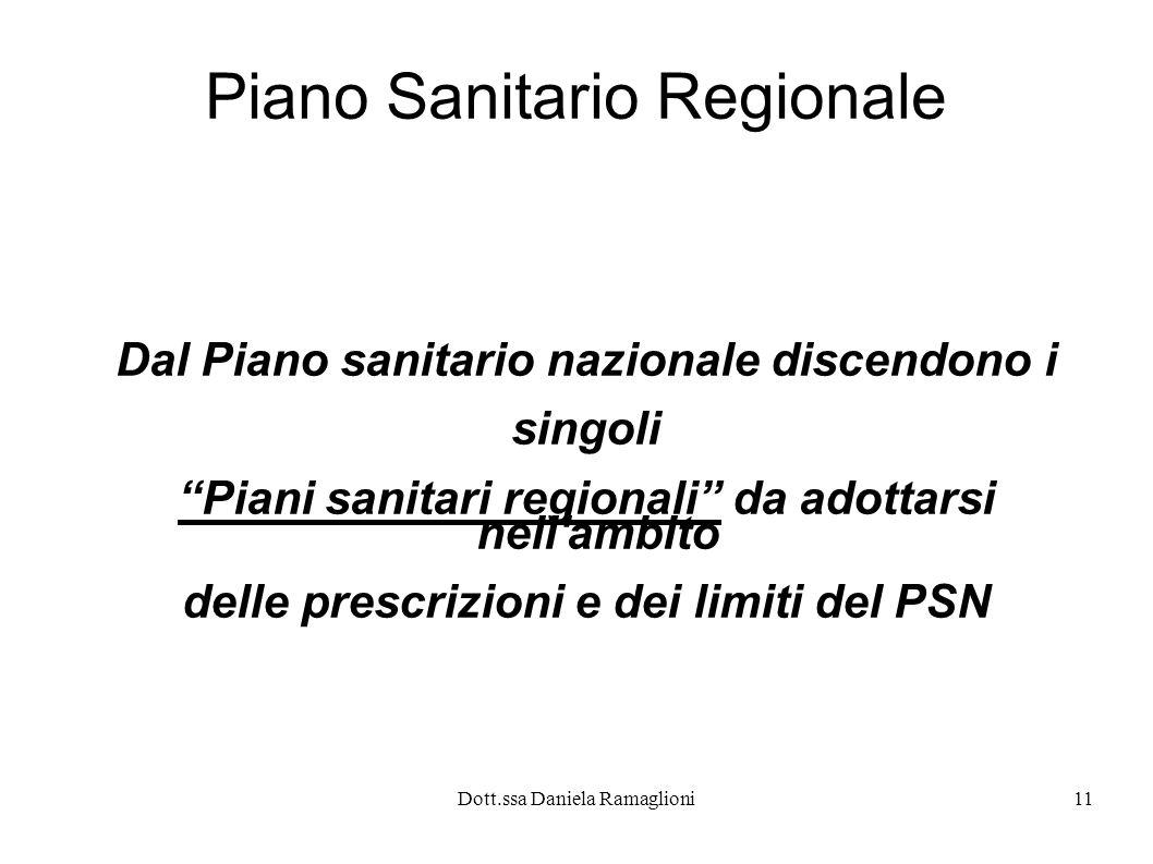 Piano Sanitario Regionale
