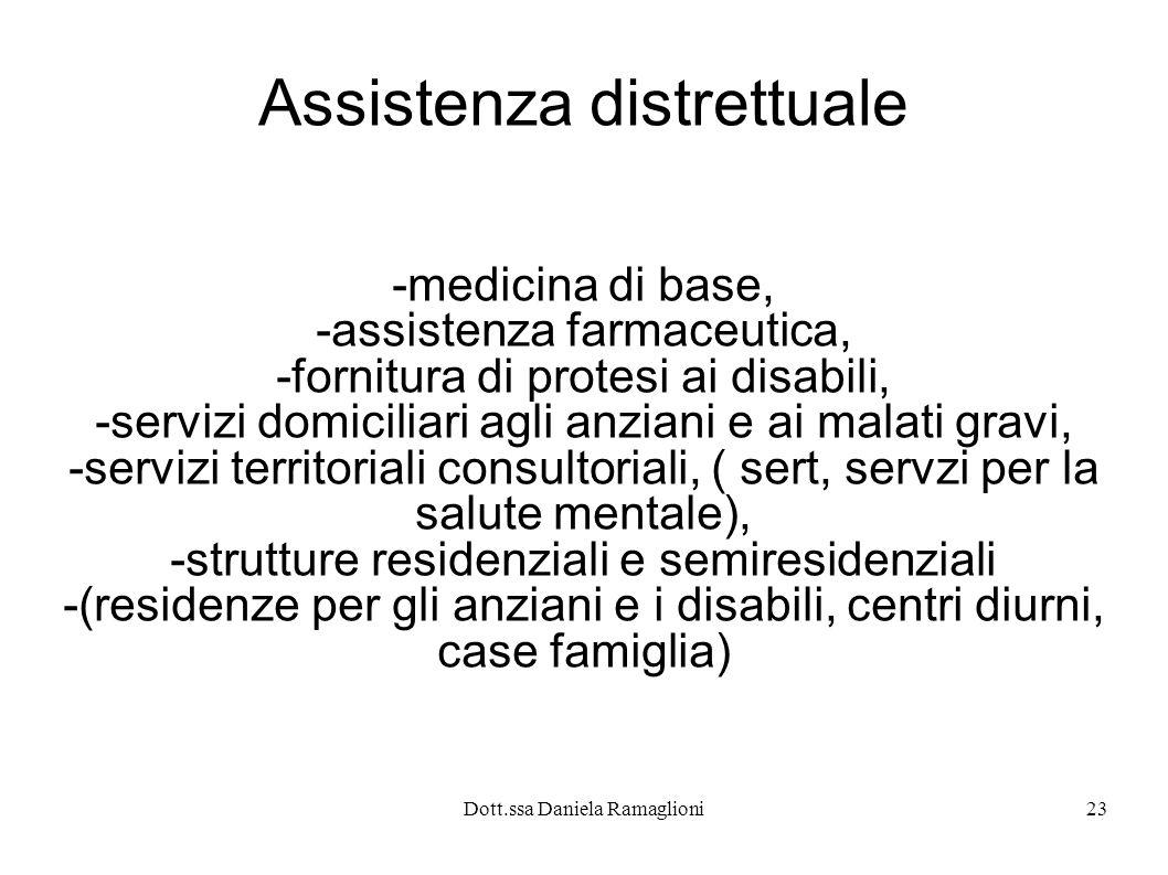 Assistenza distrettuale