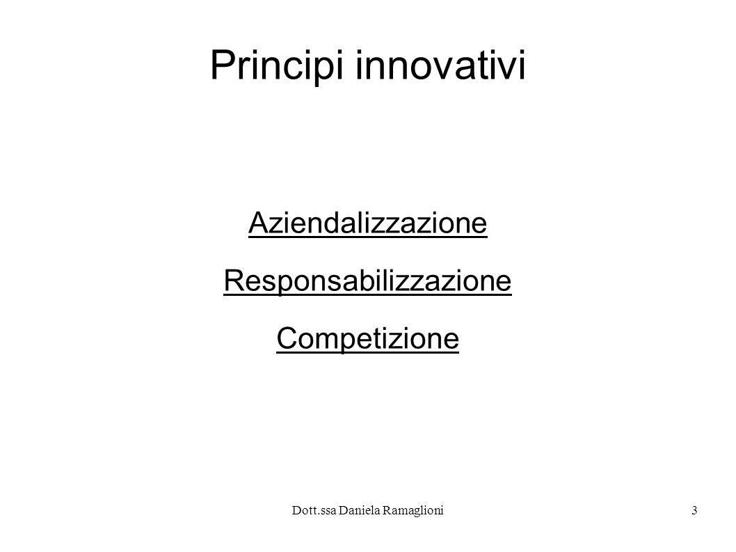Aziendalizzazione Responsabilizzazione Competizione