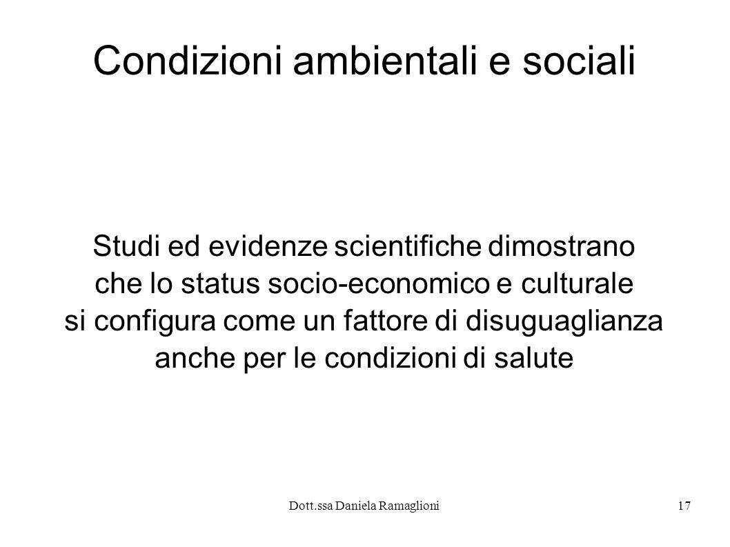 Condizioni ambientali e sociali