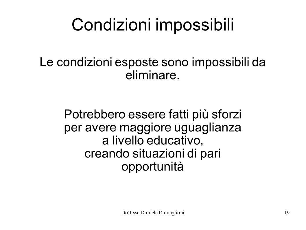 Condizioni impossibili