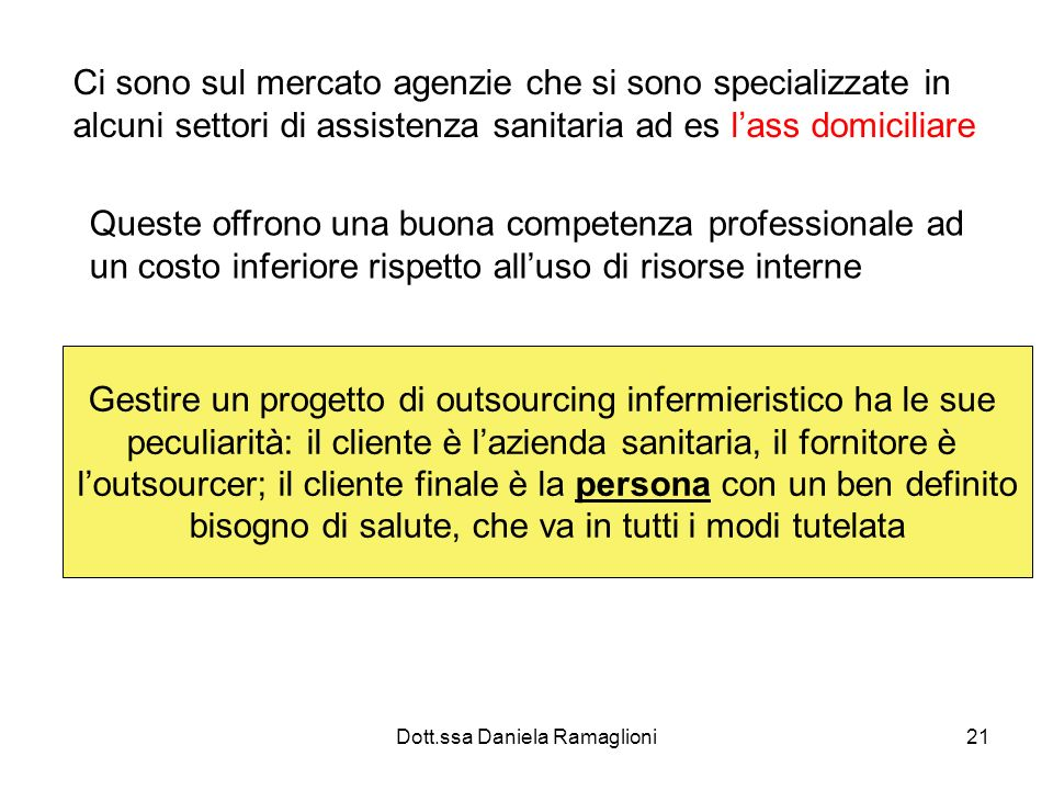 Gestire un progetto di outsourcing infermieristico ha le sue