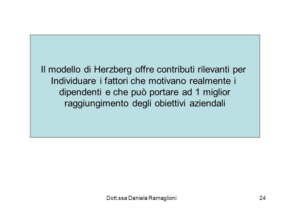 Il modello di Herzberg offre contributi rilevanti per