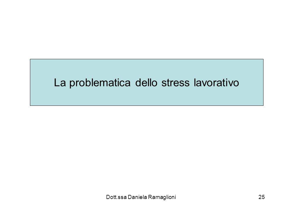 La problematica dello stress lavorativo