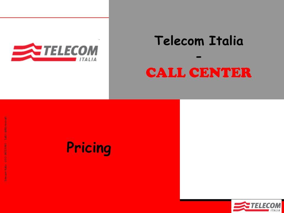 Telecom Italia - CALL CENTER