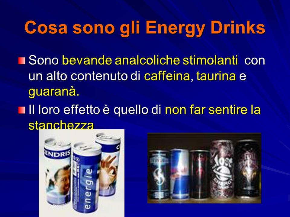 Cosa sono gli Energy Drinks