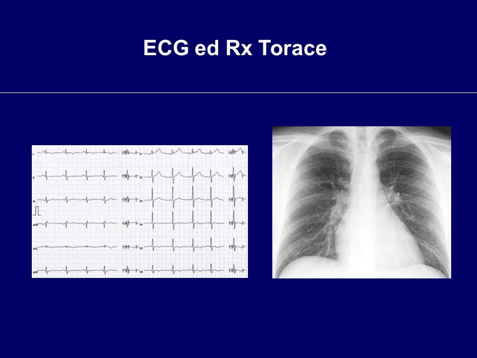 ECG ed Rx Torace