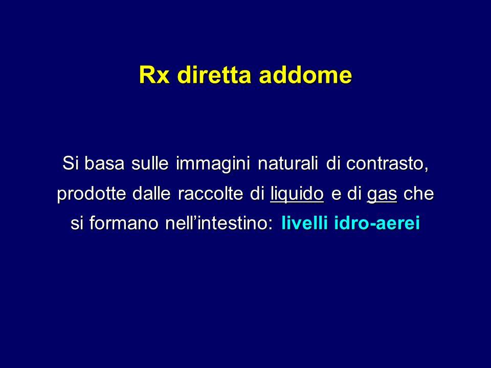 Rx diretta addome