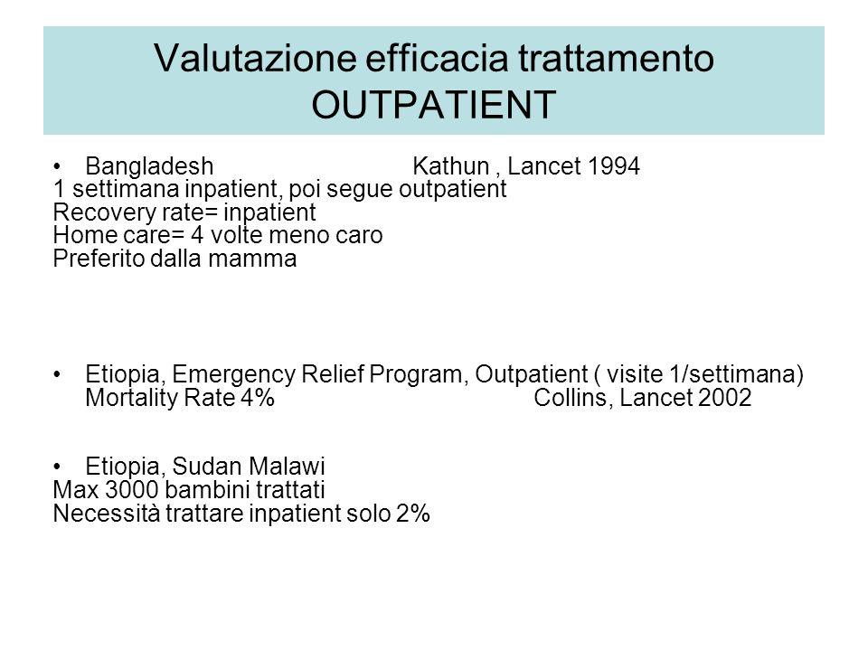 Valutazione efficacia trattamento OUTPATIENT