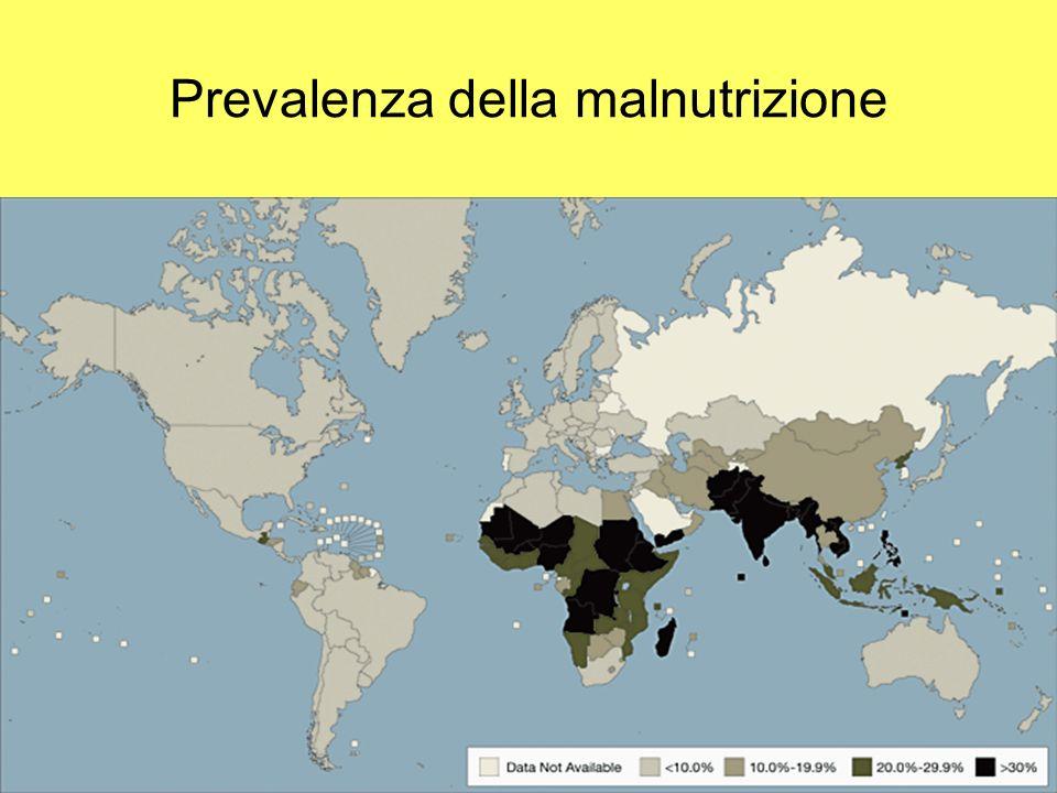Prevalenza della malnutrizione