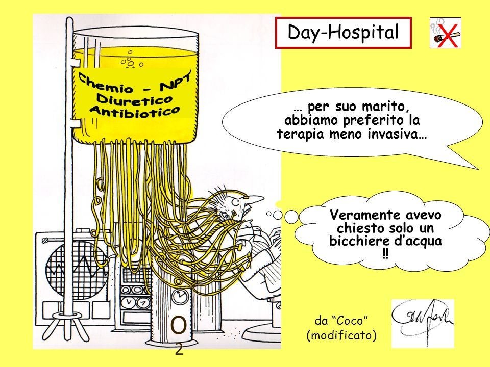 O2 Day-Hospital Chemio - NPT Diuretico Antibiotico