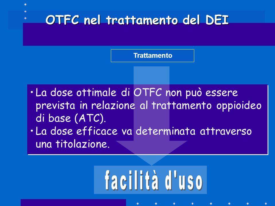 OTFC nel trattamento del DEI